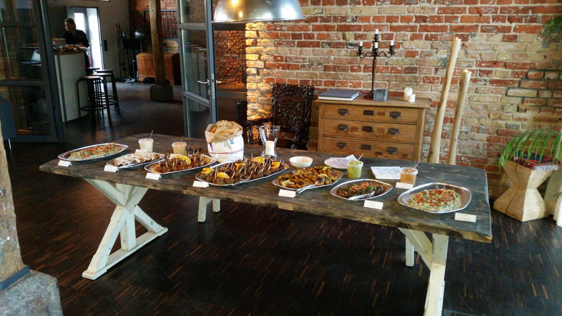 Köstliche Tapas Kreationen im Restaurant Le Golden Igel in Hamburg Neustadt & Catering